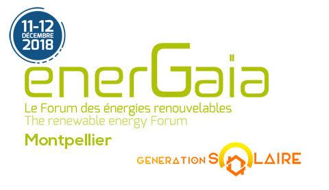 exposition energaia 2018 - FORUM ENERGAIA  2018 - MONTPELLIER - FORUM ENERGAIA  2018 - MONTPELLIER