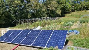 installation panneaux solaires au sol 300x169 - Installateur Solaire Photovoltaïque Belbèze en Comminges - Installateur Solaire Photovoltaïque Belbèze en Comminges