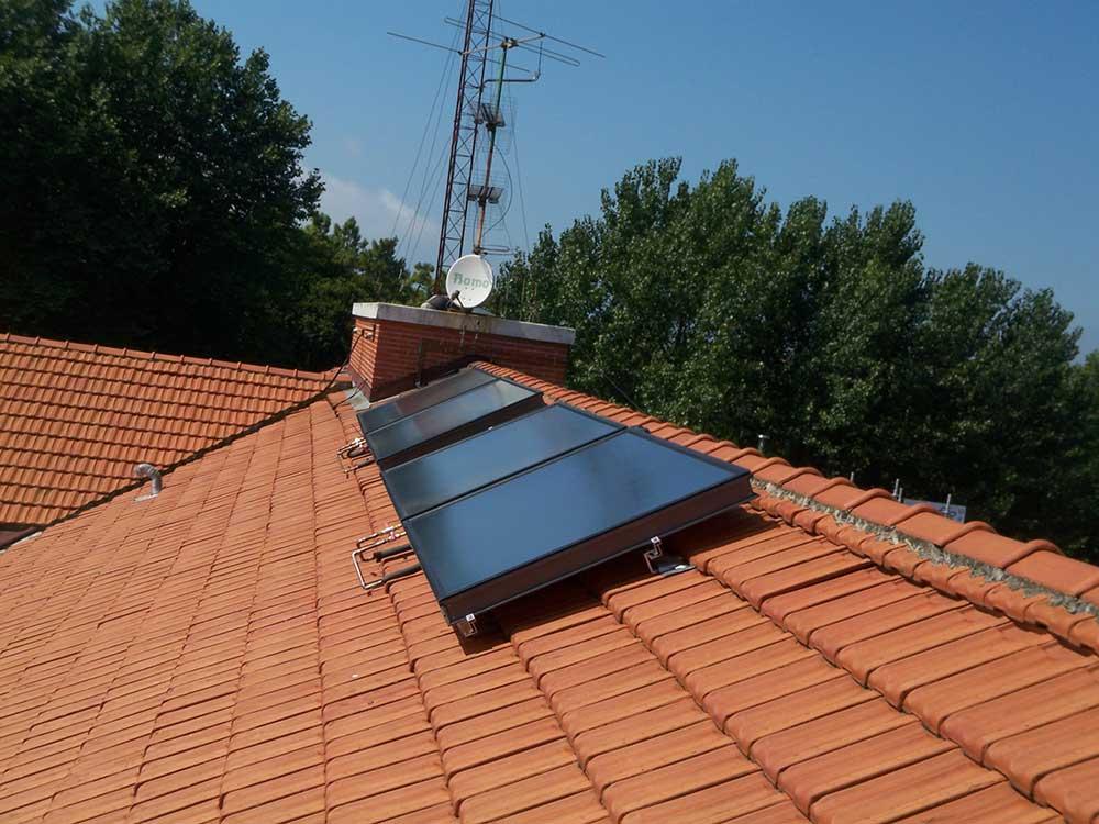 solaire thermique maison toit - Accueil enair france - Accueil enair france