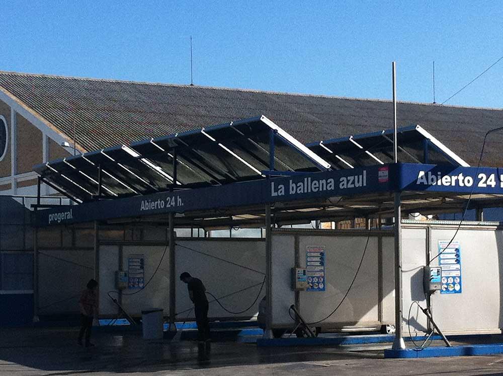 station lavage solaire La Ballena Azul 1 - Accueil enair france - Accueil enair france